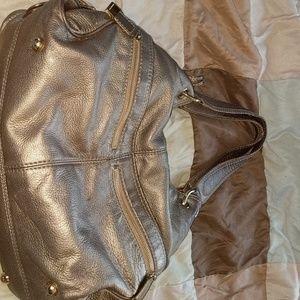 Michael kors used gold shoulder purse